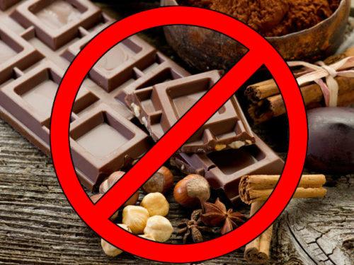 Запрет на шоколад