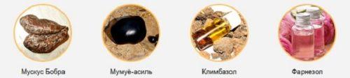 Ингредиенты стоп-актив