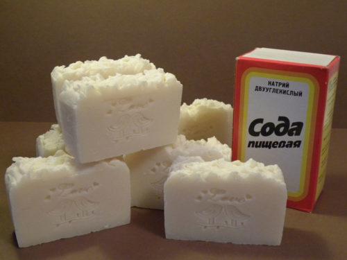 Сода с мылом